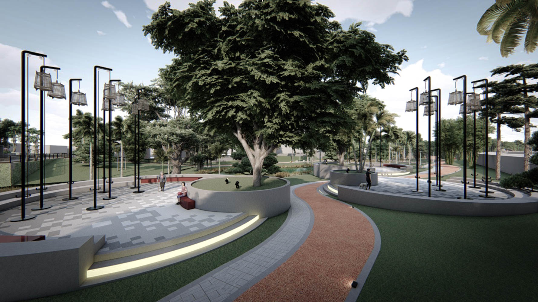 Langsat - public space