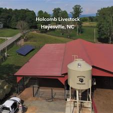 Holcomb Livestock,  Hayesville, NC