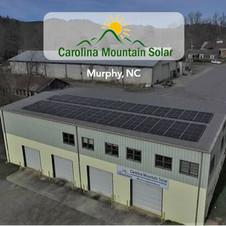 Carolina Mountain Solar,  Murphy, NC
