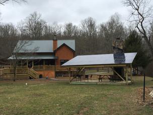 Wood Solar Pergola, Mineral Bluff, GA