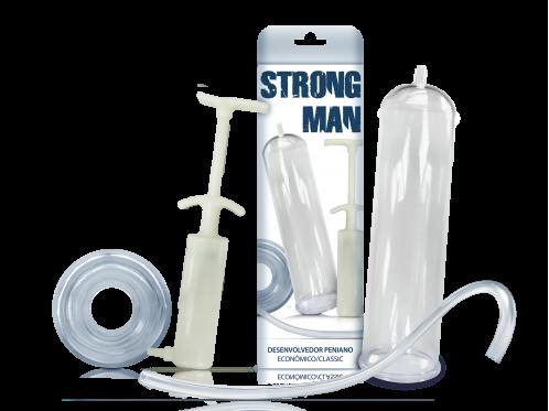 Strong Man Econômico Seringa Marfim