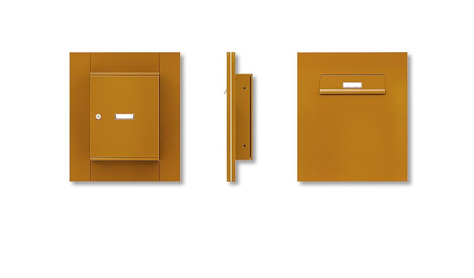 Sestavy poštovních schránek do vchodových dveří - svislé