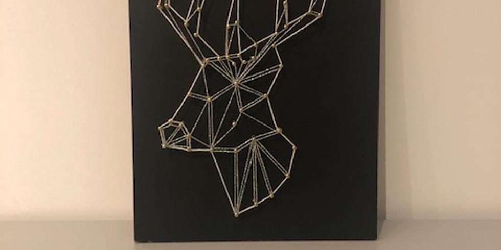 A LA DEMANDE String art