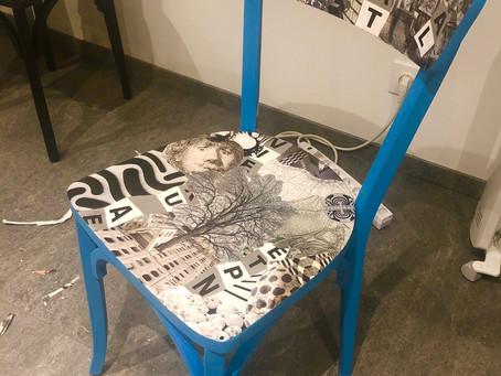 Atelier customisation de chaise