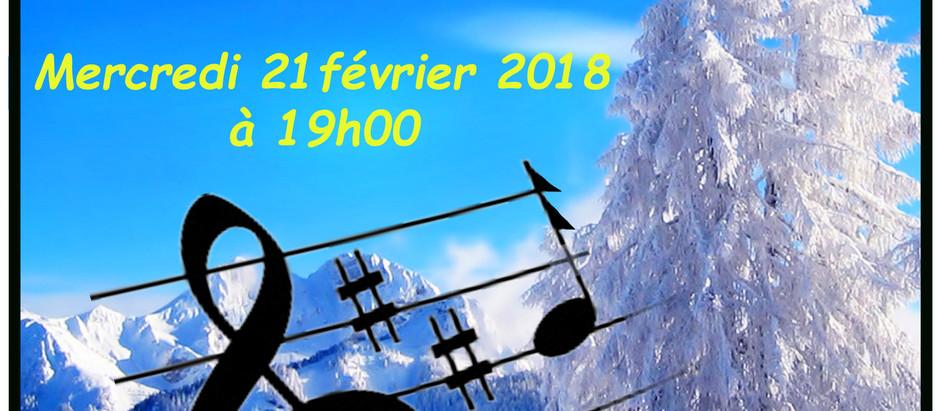 Concert Chœur de Femmes - Ecole de Musique des Aravis