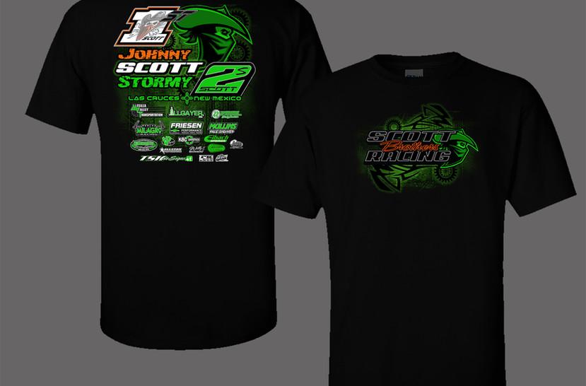Scott racing hoodie