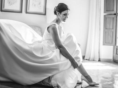 Precioso reportaje de boda en Chinchón