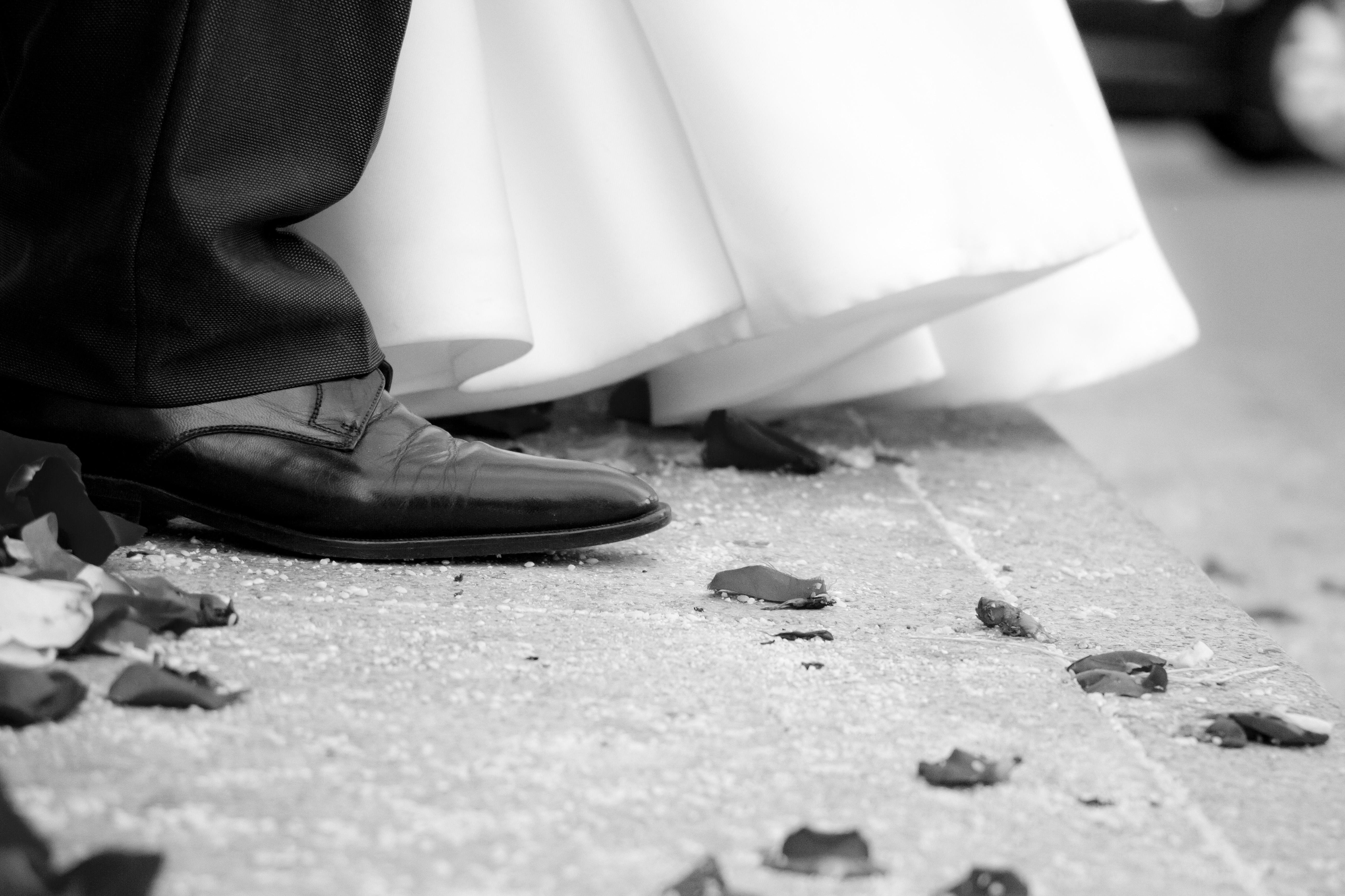 vestido y zapatos