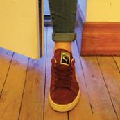 Foot through the door