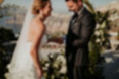A magical Santorini destination wedding - Ceremony