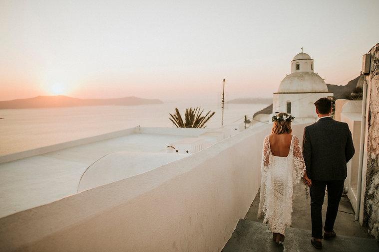 Greek Island elopement
