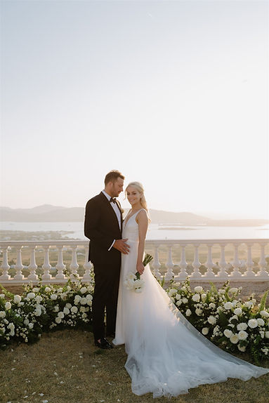 Elegant Destination Wedding in Paros