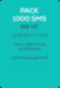 SMSVendor - sms pro - Pack 1000