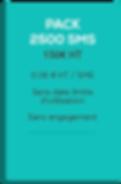 SMSVendor - sms pro - Pack 2500