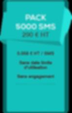 SMSVendor - sms pro - Pack 5000