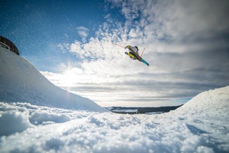 Joakim Agartson /Jennie-Lee Burmansson /Kläppen Snow Park