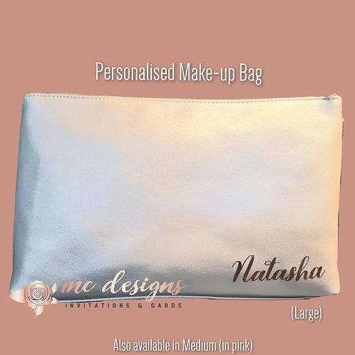 Personalised Make-up Case (Large)