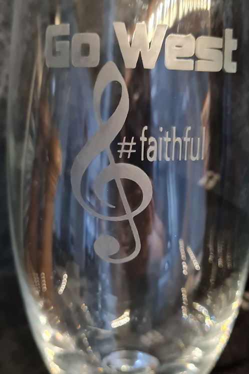 Personalised Etched Glass
