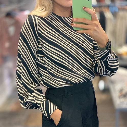 InWear Veannal Stripe Blouse