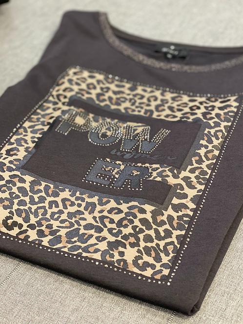 monari power t-shirt glitter neckline Jude Law Boutique Magherafelt mid ulster