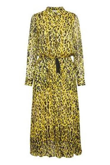 Inwear leopard Bengal dress button tie waist midi Jude Law Boutique Magherafelt JLB
