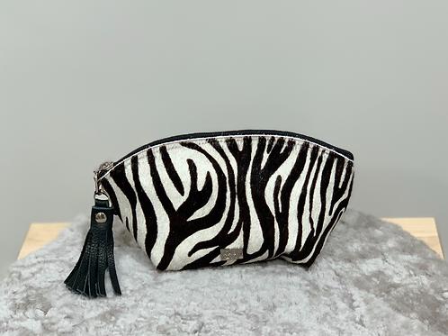 Owen Barry Zebra Make Up Bag