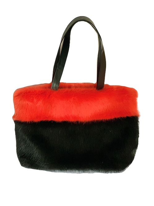 Helen Moore Handbag faux fur vegan gifts for her Christmas JLB Jude Law Boutique Magherafelt