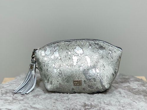 Owen Barry Silver Acido Make Up Bag