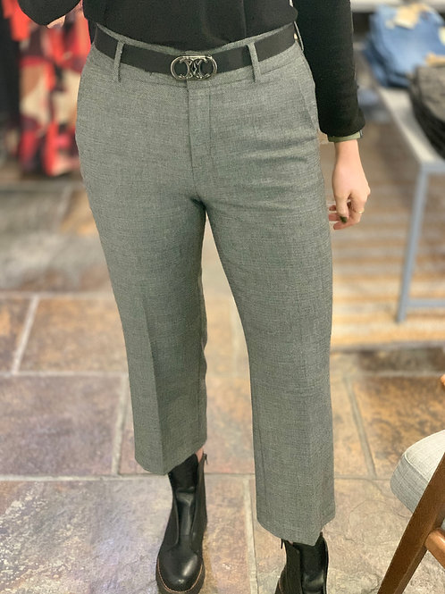 Cambio trousers grey small check cropped straight fit JLB Jude Law Boutique Magherafelt