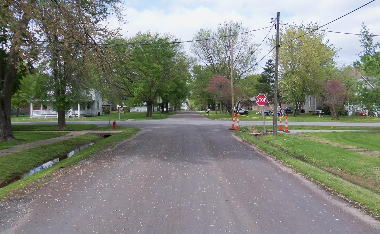 Pine Street Sanitary Sewer Line