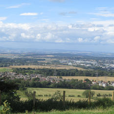 'Edinburgh From the Hills' by Amy McCombes