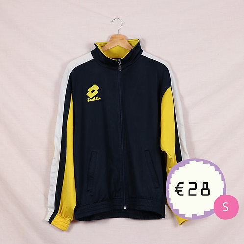Lotto Yellow & Navy Track Top