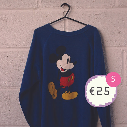 Blue Mickey Mouse