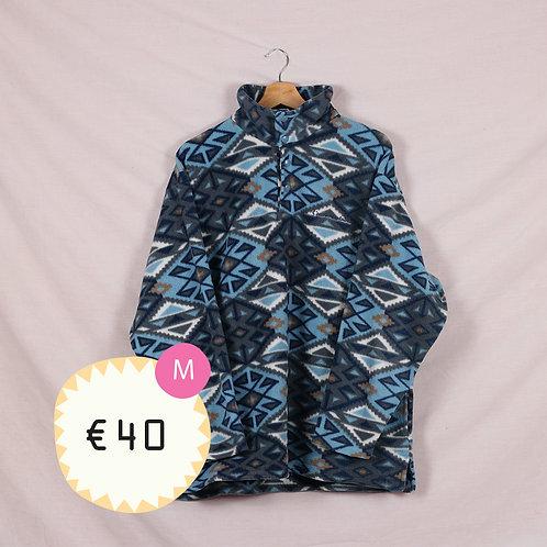 Blue Aztec Fleece
