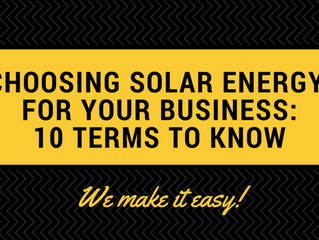 10 Solar Energy Terms Business Owners Need to Know