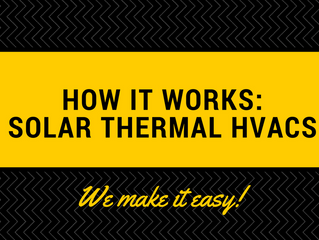 How It Works: Solar Thermal HVACs
