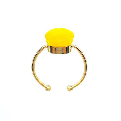 Anello Cara giallo