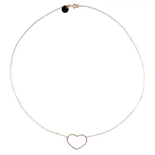 """Halskette Echt Gold """"Heart"""""""