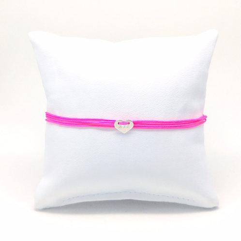 Multiwrap Stoffband pink,  Herz