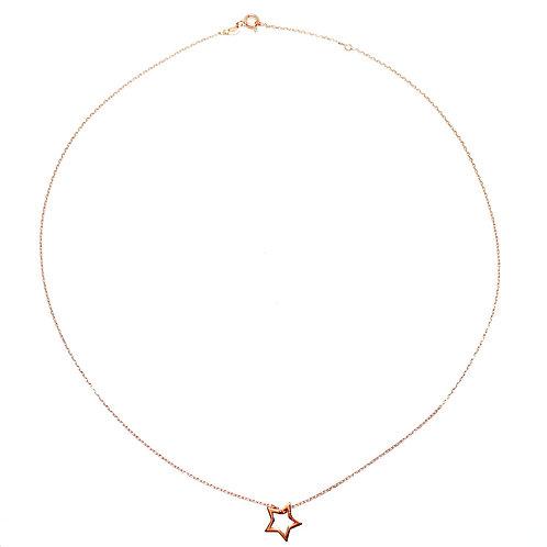 Halskette  Stern Gold
