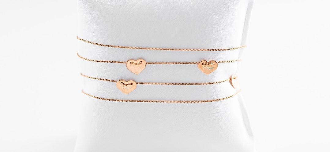 Halskette lang mit 6 Anhängern