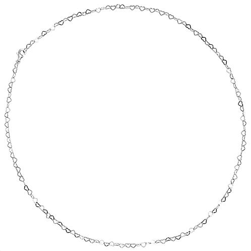 10000 Herzen, Halskette silber
