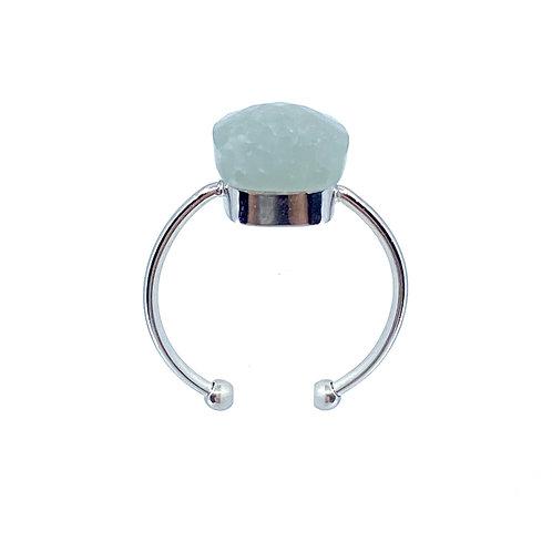 Anello Cara  anello grigio