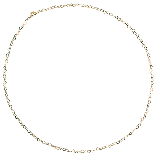 10000 Herzen, Halskette goldvergoldet