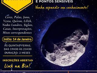 Asteroides e Pontos Sensíveis: Venha expandir seu conhecimento!