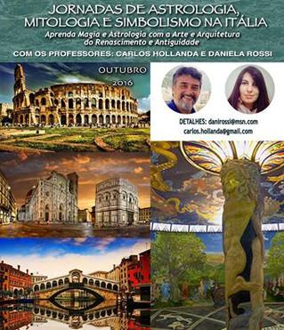 JORNADAS DE ASTROLOGIA, ARTE E MAGIA NA ITALIA