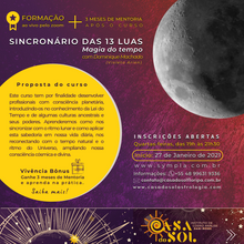 Sincronário das 13 Luas: Magia do Tempo