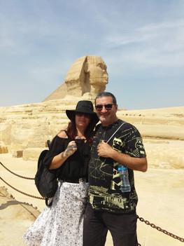 Daniela Rossi e Luiz Godolfim - Egito - 2018