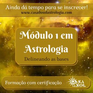 Inscrições Abertas Módulo I - Formação em Astrologia!