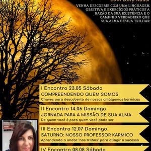 Venha participar de nosso Workshop Vivencial de Astrologia Karmica